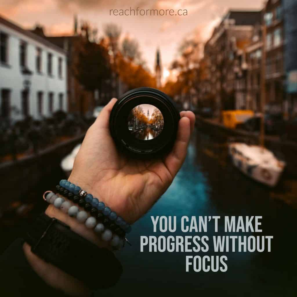 You can't make progress without focus. Figure out where you are going and use these steps to reach your financial goals.