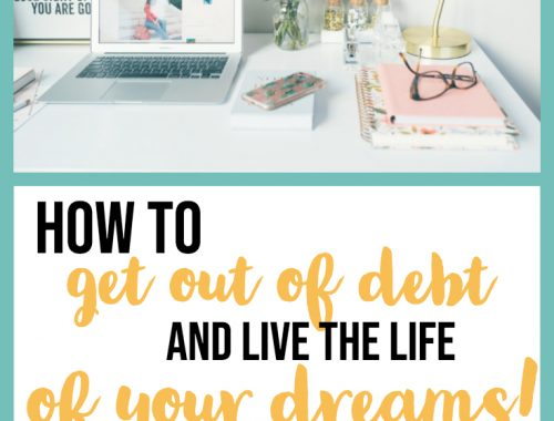 how to get out of debt and live the life of your dreams - learn about the snowball method and pay off debt quickly