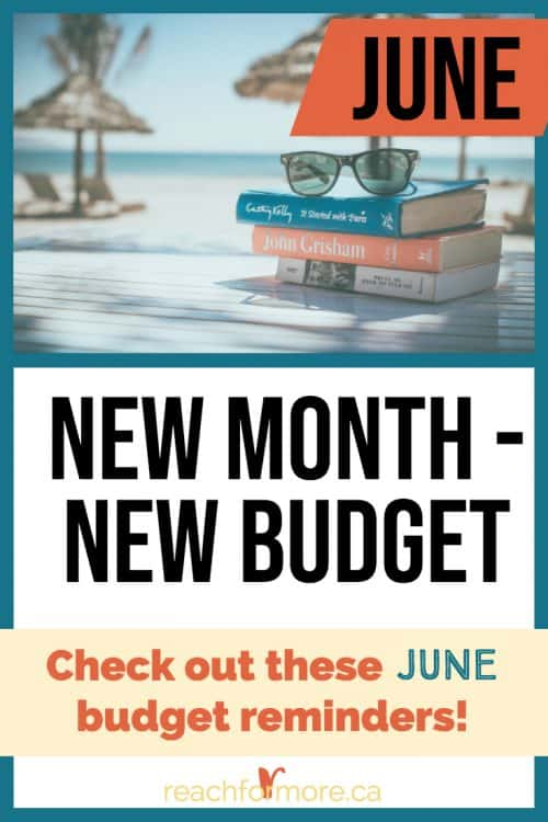 Check out these June budget tips to get intentional with your money and rock your budget!
