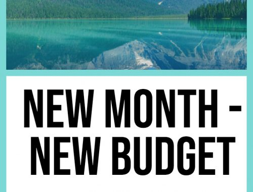 New Month New Budget - July
