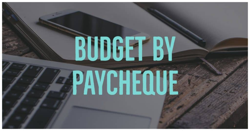 Budget By Paycheque - an awesome strategy to help you know what to pay when. Keeps your organized and on track throughout the month!