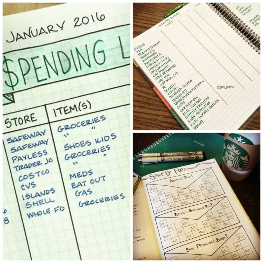 Chasing a Better Life - Bullet Journal Ideas that will get your finances in order