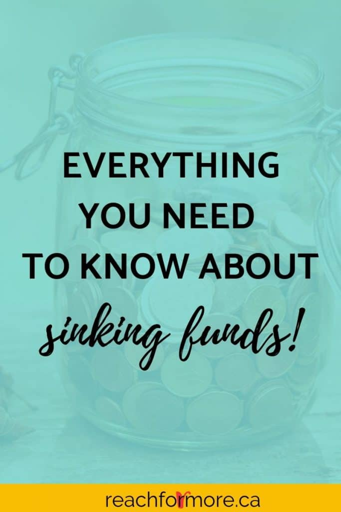 Everything you need to know about sinking funds - answering the questions: What is a sinking fund? Why do I need sinking funds? What should I be saving for? Where should I keep them?  These questions, and more, answered here!