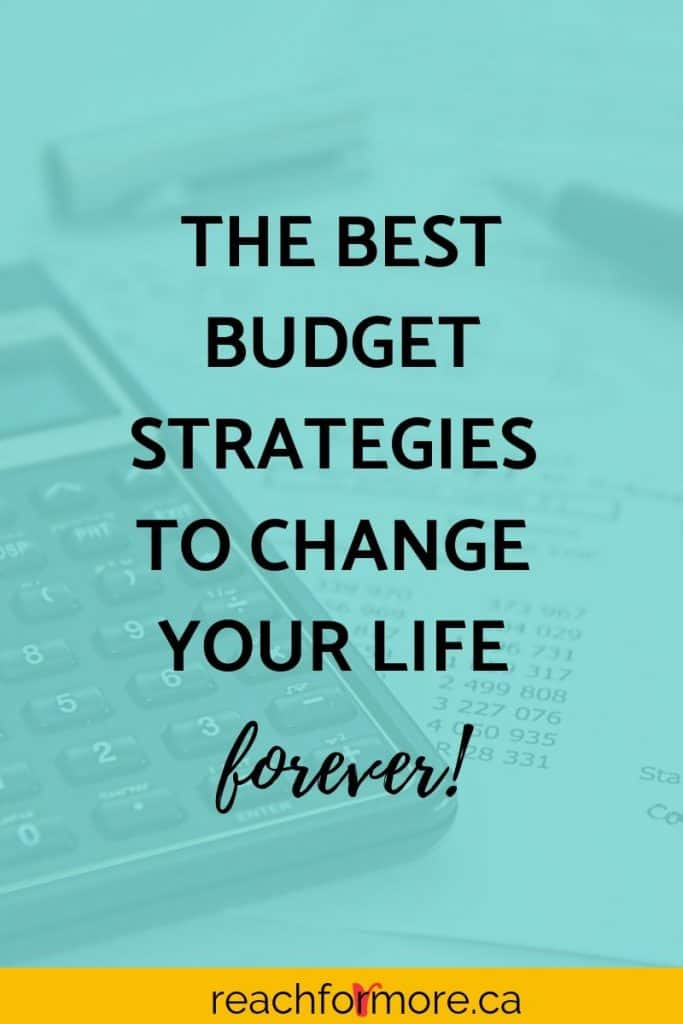 B is for Budgets - An overview of all the best ways to budget - use these strategies to win with your money and change your life!