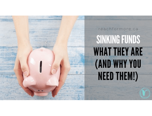 Learn everything you need to know about sinking funds! What they are, why you need them, and how exactly to use them to get the most out of your money!
