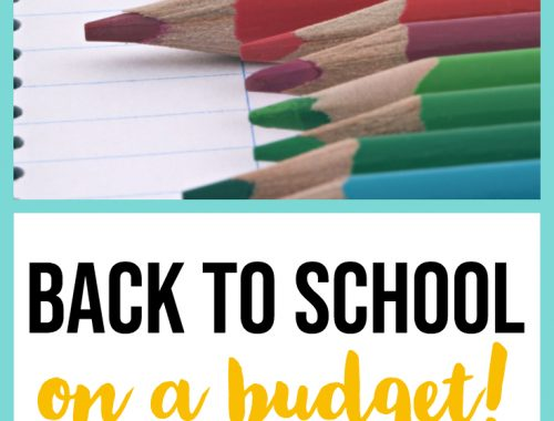 head back to school on a budget - 7 tips to save money on clothes & supplies