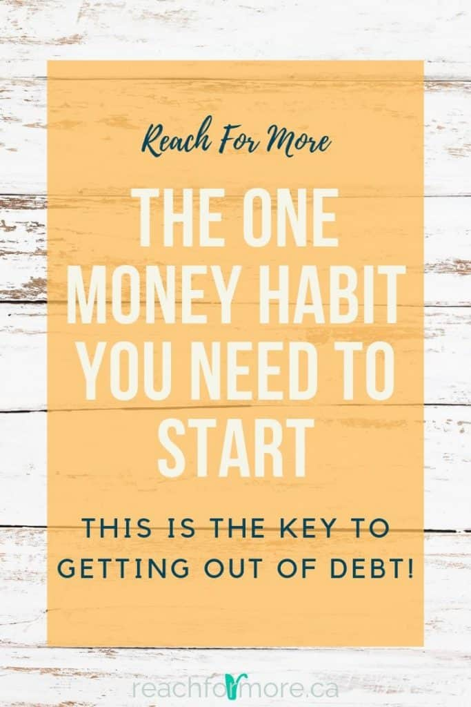 The one thing you should do every day - this habit is the key to getting out of debt! Read all about it now!