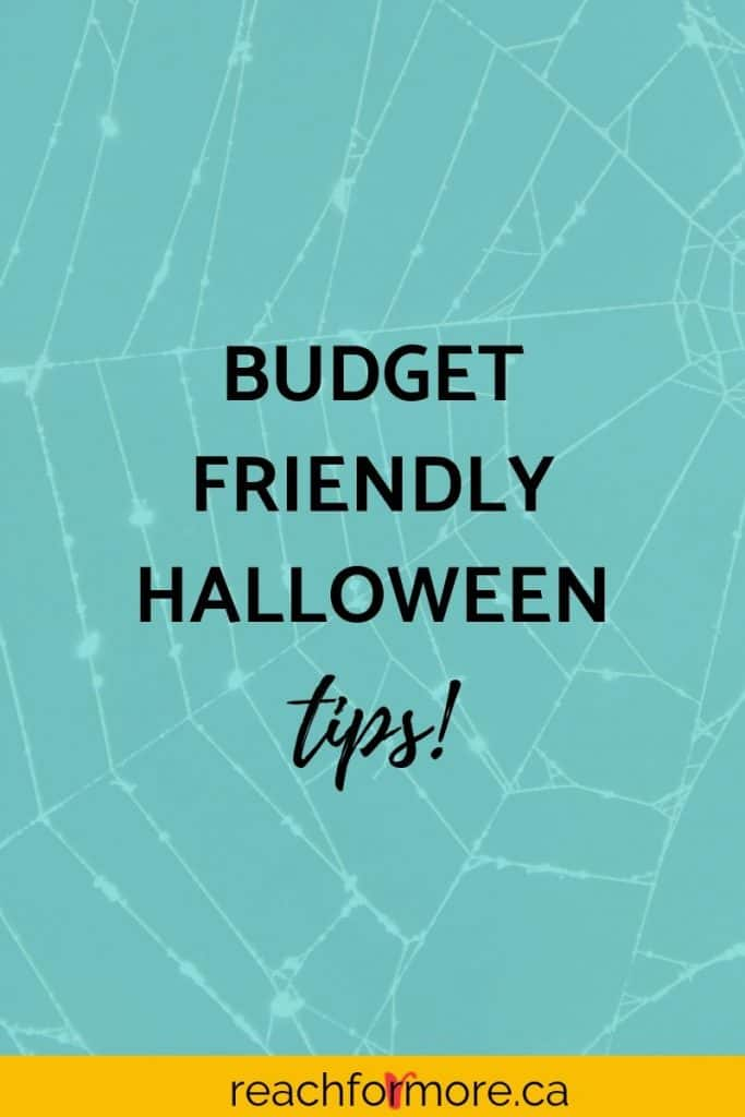 budget friendly halloween tips  costumes and decorations, build halloween into your budget so you are ready!