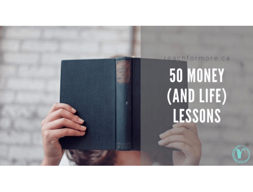 50 lessons we've learned about money and life