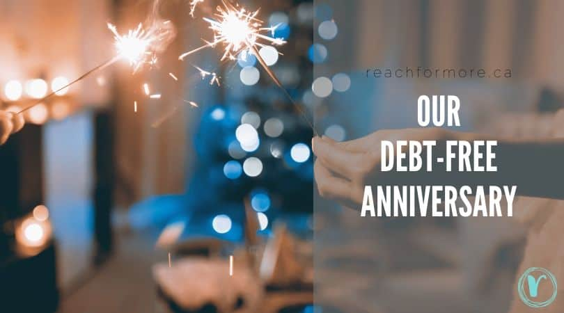 Reflections on one year debt-free