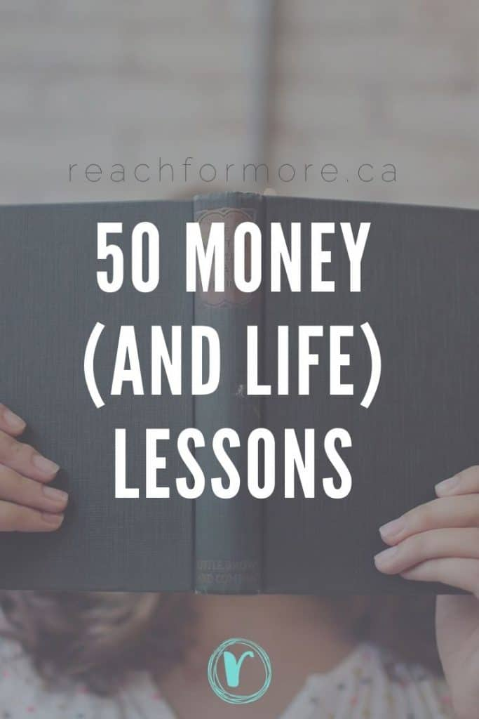 50 lessons about money and life