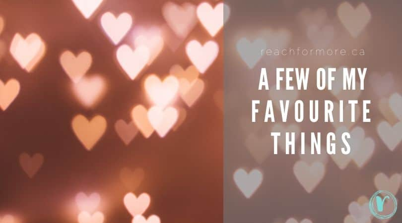 A list of all of my favourite things - these are the tools I use to level up my life and live with intention every single day!