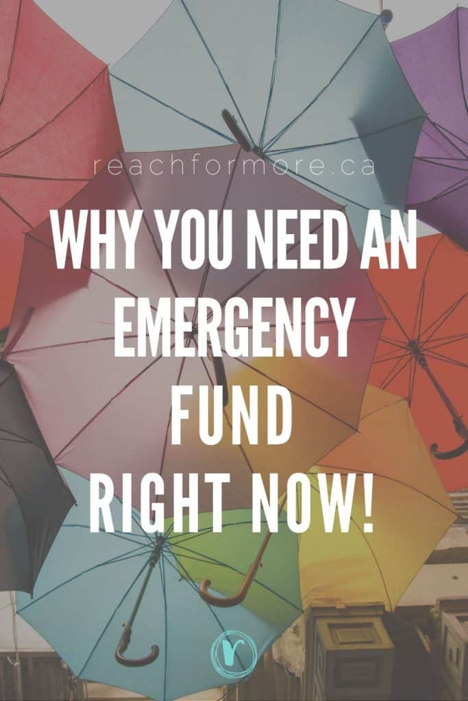 You NEED an emergency fund regardless of where you are in your financial journey