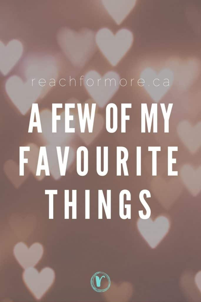 Check out this list of my favourite things - books, podcasts, and things I use to be intentional with my life!