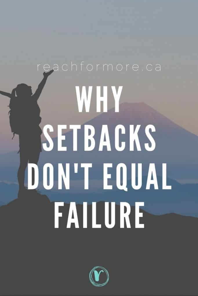 Setbacks can be discouraging but learn how you might be letting them sabotage your success, and how to get back on track and start winning with your finances!