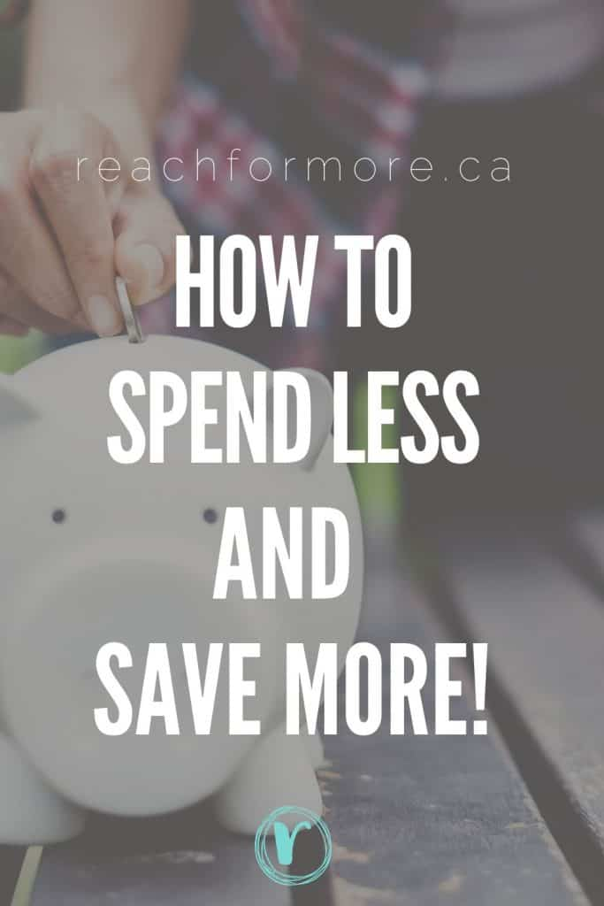 Learn new tips to spend less and save more!