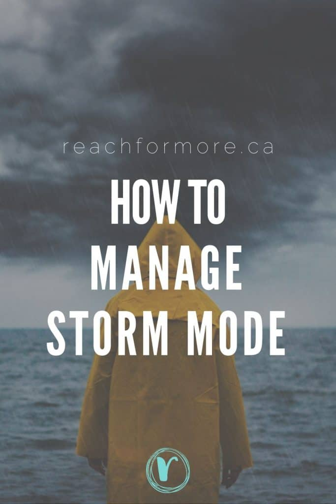 How to manage storm mode - tips for handling personal finance during crisis