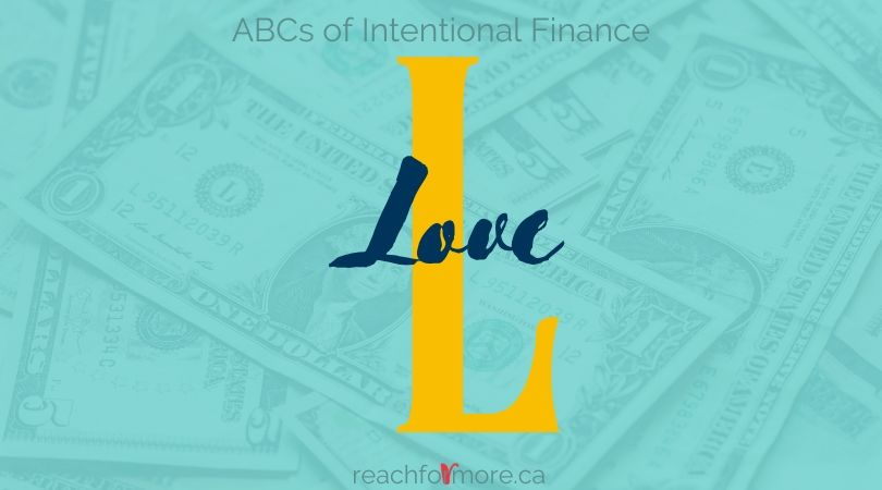L is for Love - Money and Marriage